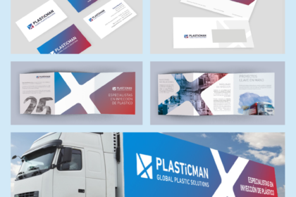 Identidad Corporativa Plasticman